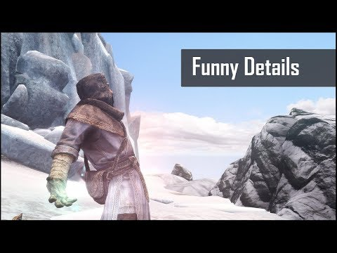 Skyrim: 5 Funny Hidden Secrets and Details in The Elder Scrolls 5