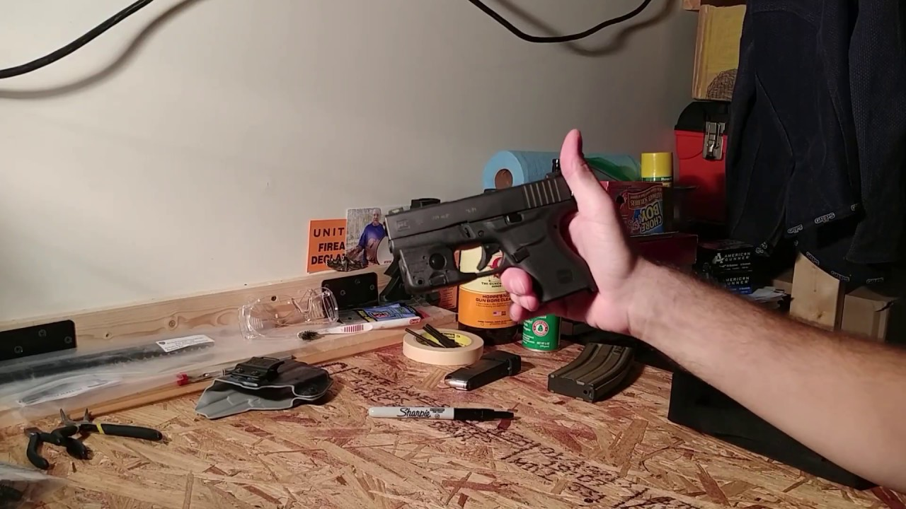 Ameriglo Spartan Operator Night Sights Glock 43 42 Review