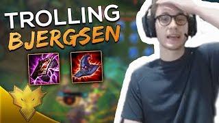 TSM Bjergsen & Biofrost - BIOFROST TROLLS BJERGSEN! - League of Legends Funny Stream Moments
