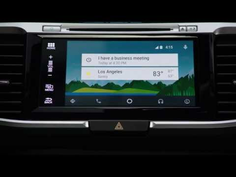Honda Introduces Android Auto™