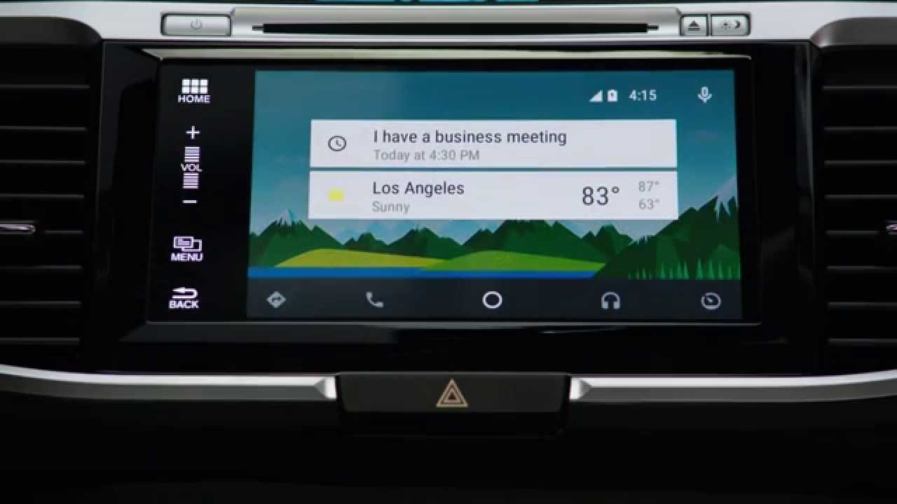 Honda Introduces Android Auto™ - YouTube