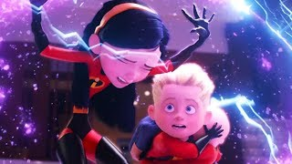 Incredible 2 - Dash, Violet and Jack Jack Best Scenes