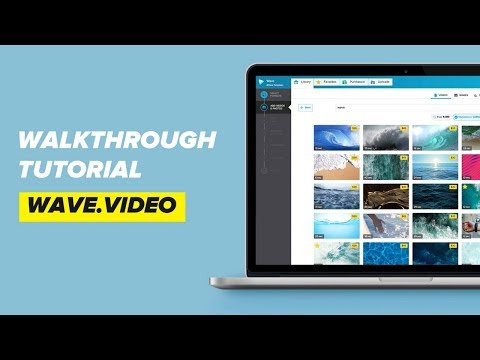 How to Use Wave.video | Walkthrough Tutorial