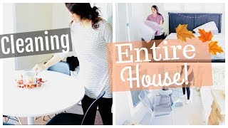 Speed Cleaning My Entire House | Cleaning Motivation