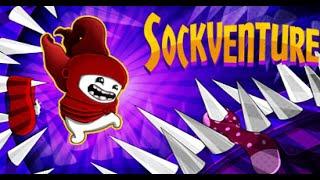 MAIS DIFÍCIL QUE SUPER MEAT BOY | Sockventure (Gameplay em Português PT-BR) #Sockventure