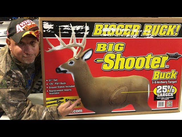 Cheapest 3D Archery Target | Big Shooter Buck