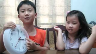 Learning How To Tell The Time Clock Face by Gemmy and Affy