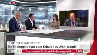"""Live: Wirtschaftsminister Altmaier stellt seine """"Nationale Industriestrategie 2030"""" vor"""