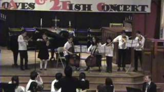 Amazing Grace, Jesus loves me - New Jersey UBF 5 loaves and 2 fish orchestra‏ concert
