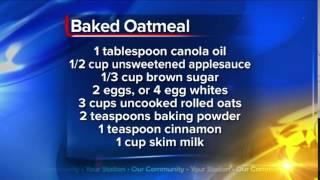 What's For Dinner: Baked Oatmeal