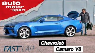 Chevrolet Camaro V8 (2019): Gute Rundenzeit dank reichlich Liter? - Fast Lap |auto motor und sport thumbnail