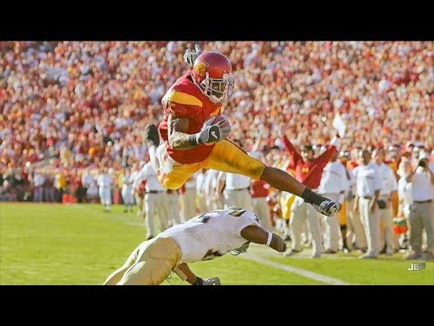 Most Exciting Player in USC Football History || RB Reggie Bush Highlights ᴴᴰ