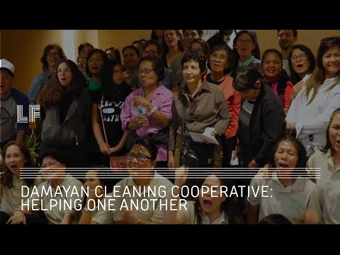 Damayan Cleaning Cooperative: Helping One Another | Labor Trafficking Survivors Open Co-Op