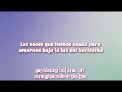 AOA - Under The Horizon Lights/Under The Street Lights [Sub español + Rom]