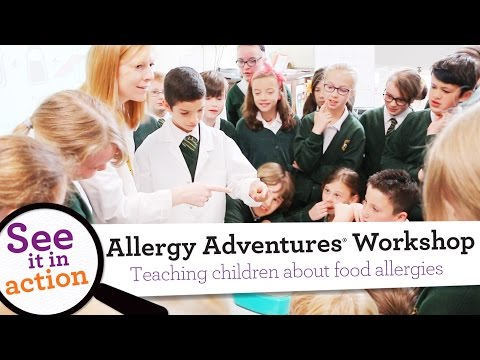 Allergy Adventures® Workshop for Schools Supported by Wellcome Trust