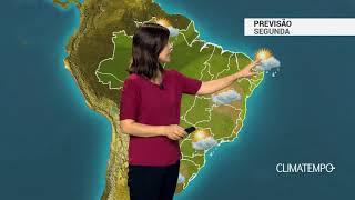 Previsão Brasil – Mais chuva entre o Norte e o Nordeste