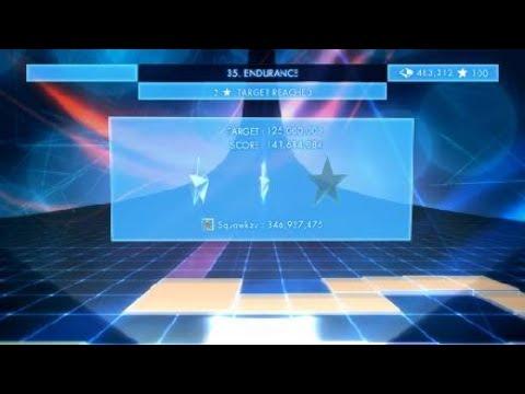 Geometry Wars³: Dimensions endurance game mode  
