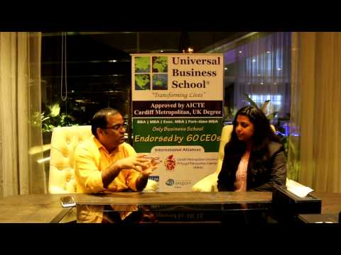 Senator Kavindra Mishra MD & CEO. Pepe Jeans in Universal Business School