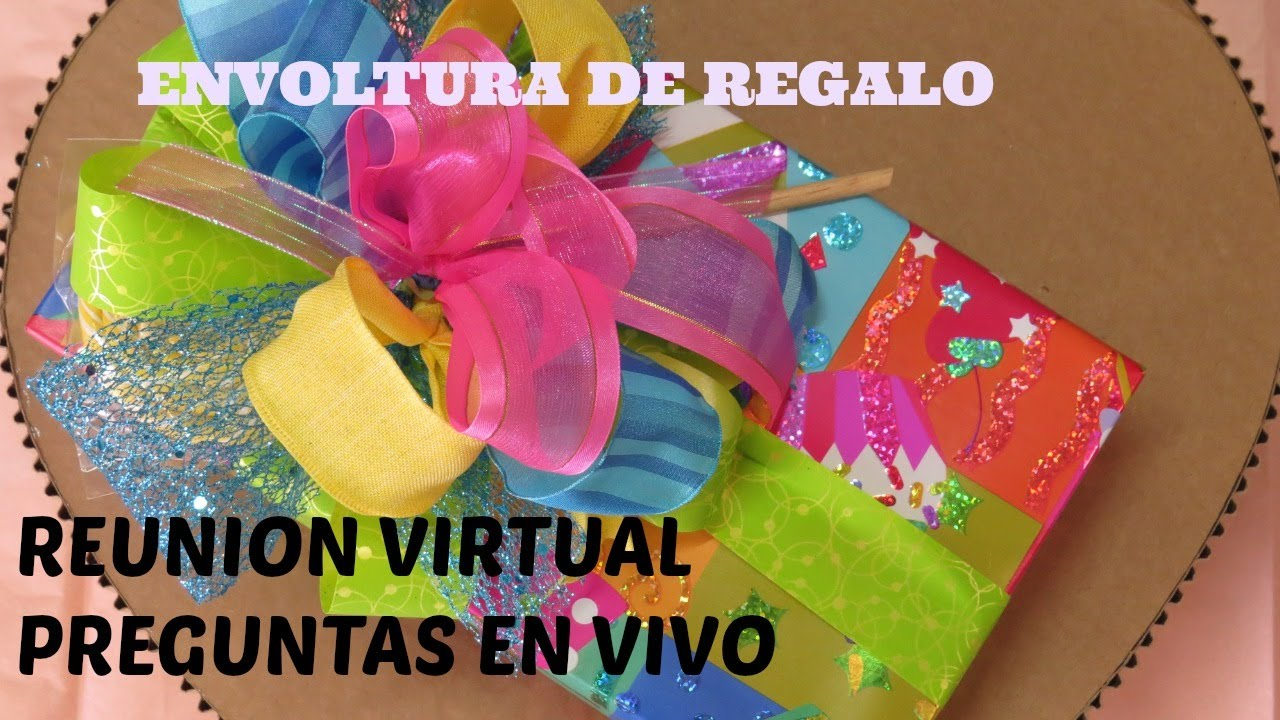 Reunion virtual envolturas de regalo youtube for Envolturas para regalos