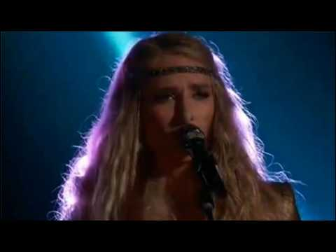 Stephanie Rice performance of 'Behind Blue Eyes'  The Voice 2017 Top 11