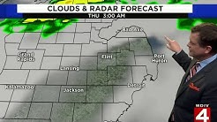 Metro Detroit weather forecast for Oct. 23, 2019 -- morning update