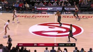 2nd Quarter, One Box Video: Atlanta Hawks vs. Miami Heat