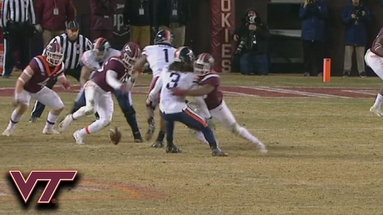 Virginia Tech Forces Turnover In Ot To Win 15th Straight Vs Virginia