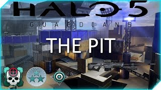 Halo 5 - Halo 3 Classic Throwback Playlist - INTENSE The Pit CTF
