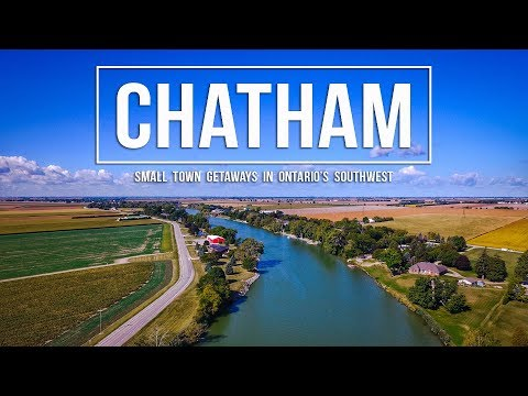 WEEKEND ITINERARY In CHATHAM, ONTARIO!