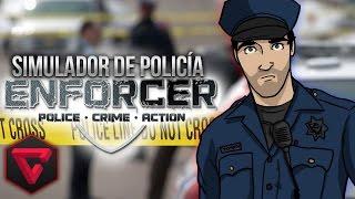 """SIMULADOR DE POLICÍA: LA MISTERIOSA MUJER DEL VESTIDO MARRÓN - """"Enforcer Police Crime Action"""""""