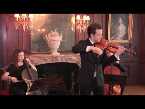 Greg Harrington, violin plays The Parting Glass