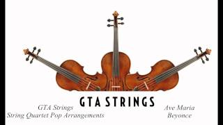 ave maria beyonce string quartet cover