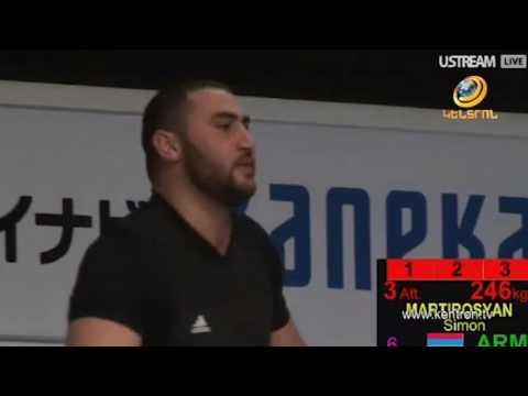 Սիմոն Մարտիրոսյանը նվաճել է աշխարհի չեմպիոնի տիտղոսը
