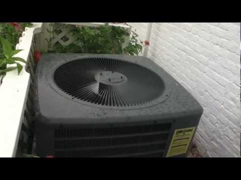 2008 Goodman GSH13 Heat Pump Running In COOL Mode