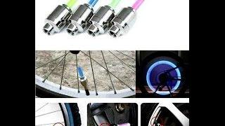 Велосипед из будущего ! светодиодные  LED лампочки для велосипеда
