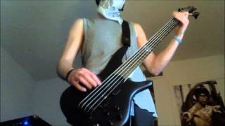 Girugamesh: Shadan: Bass Cover.
