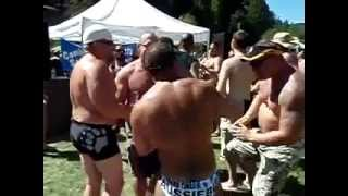 Muscle Bear Dance Circle at Lazy Bear 2008