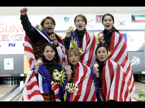 'Fantastic Six' recaptures world bowling title for Malaysia