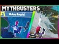 What Happens When You Jump Off The Map After Winning A Game? | + MORE! | Fortnite Mythbusters [12]