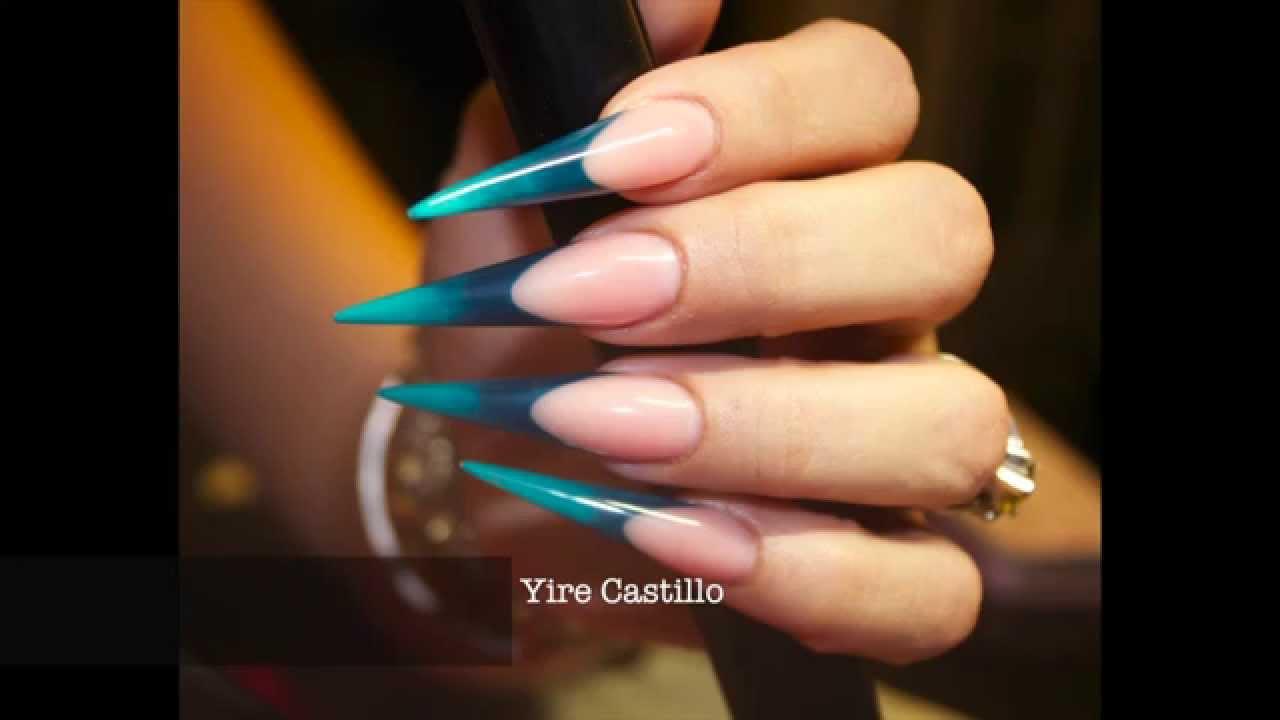 Uas Stiletto Esculturales Colaboracin Con Bellas Nails