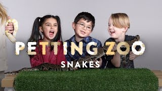 Kids Pet Snakes | HiHo Petting Zoo | HiHo Kids