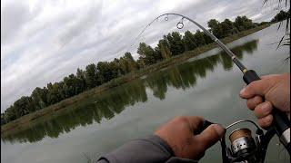 ЛОВЛЯ СОМА НА МАНДУЛУ рыбалка на хищника ловля судака с берега осенью