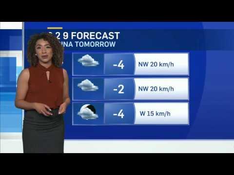 Weather Anchoring 2 - CTV Regina