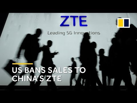 US hits Chinese telecoms giant ZTE with seven-year components ban