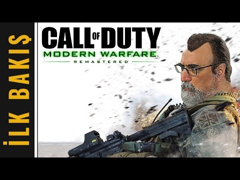 """Unutmadık Seni CAPTAIN PRICE!"" - Call of Duty: Modern Warfare Remastered İlk Bakış"