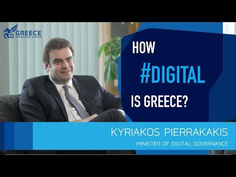Kyriakos Pierrakakis, Minister of Digital Governance - Greece Investor Guide (2)