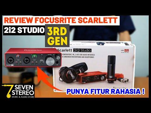 REVIEW INDONESIA SOUNDCARD FOCUSRITE SCARLETT 2i2 STUDIO 3rd GENERATION | TEST AIR MODE !!