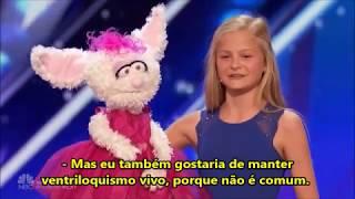 DARCI LYNNE BOTÃO DOURADO audição (LEGENDADO PT BR) America's Got Talent 2017