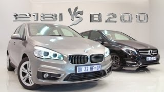BMW Active Tourer vs Mercedes B Class - Which Should You Buy?(www.Cars.co.za - In this modern age of niche-filling car design, it is quite odd that only two premium brands are playing in the MPV segment. Mercedes Benz ..., 2015-04-02T12:12:06.000Z)