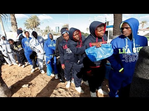 Image result for Libyan authorities deport 173 illegal African migrants